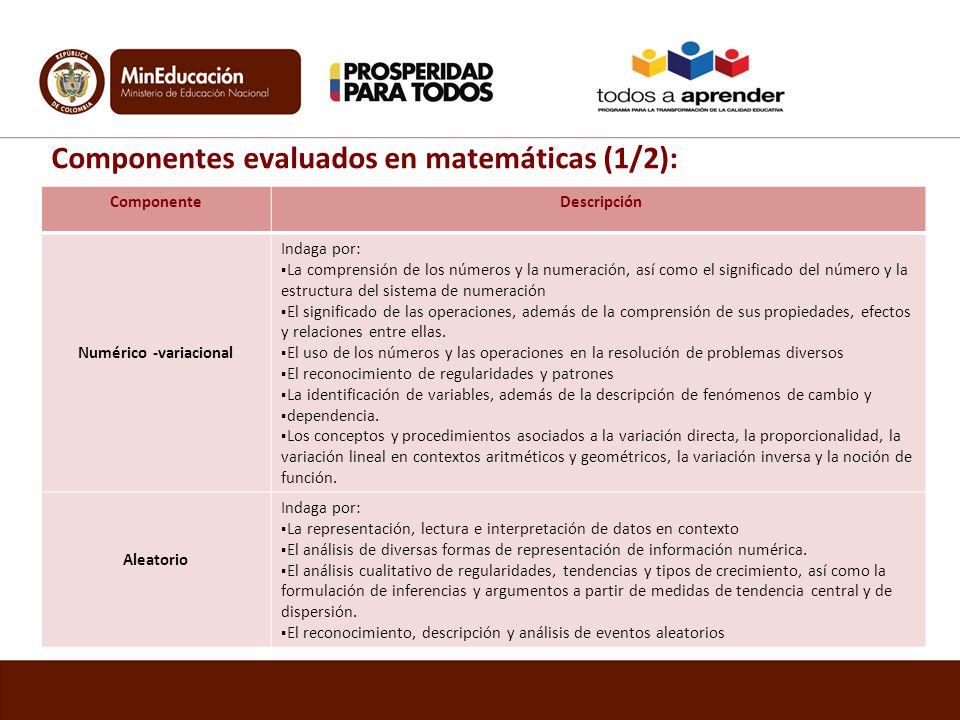 Numérico -variacional