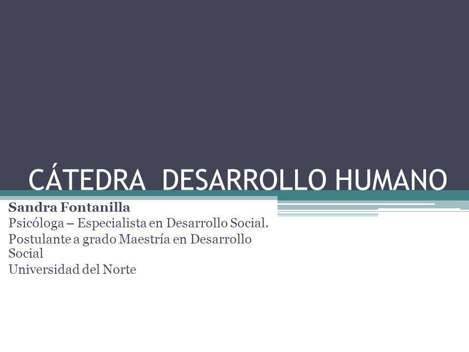 CÁTEDRA DESARROLLO HUMANO
