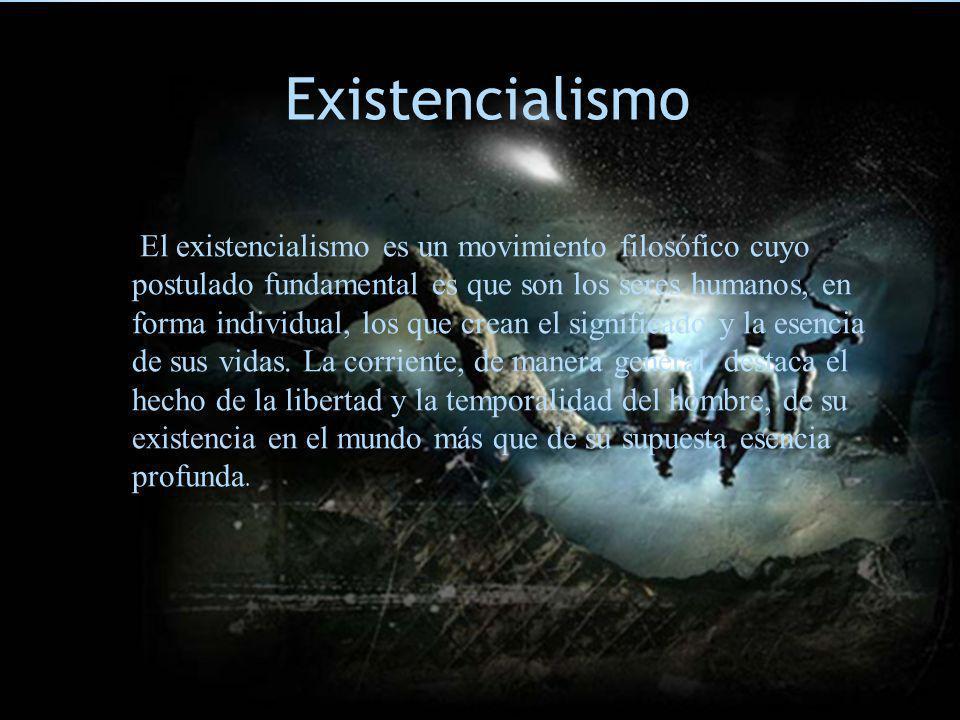 E Existencialismo