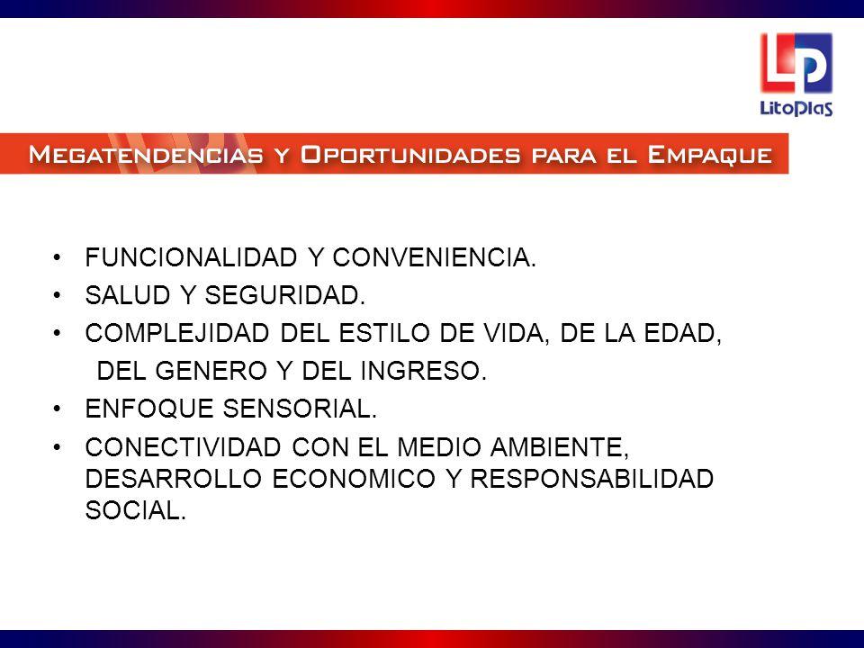 FUNCIONALIDAD Y CONVENIENCIA.