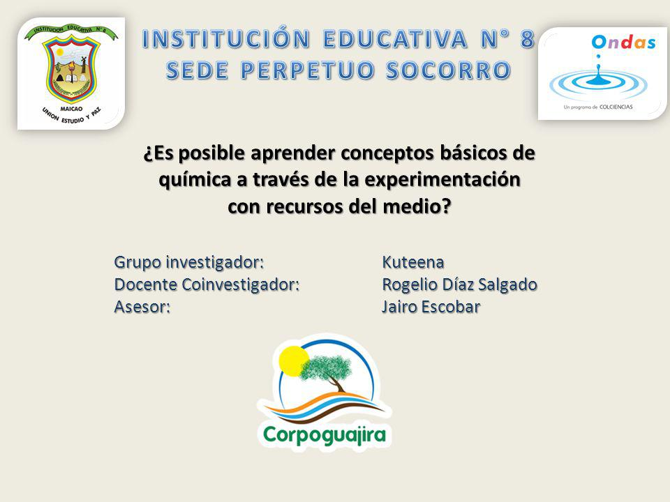 INSTITUCIÓN EDUCATIVA N° 8