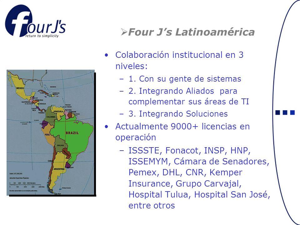 Four J's Latinoamérica
