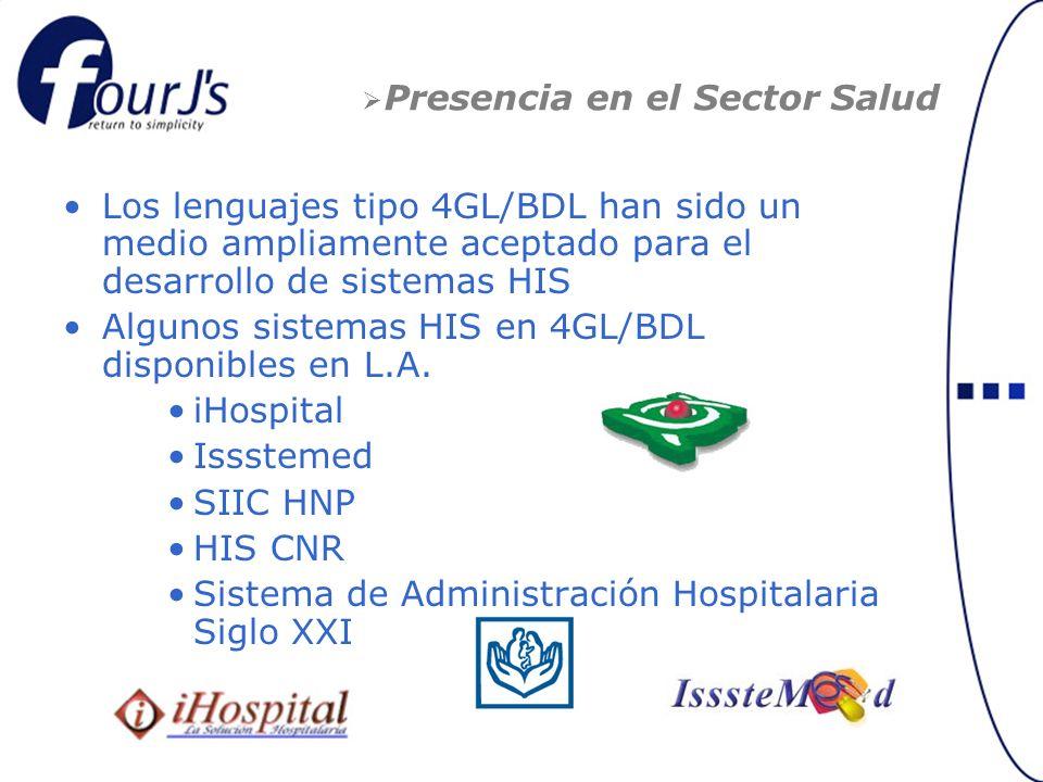 Presencia en el Sector Salud