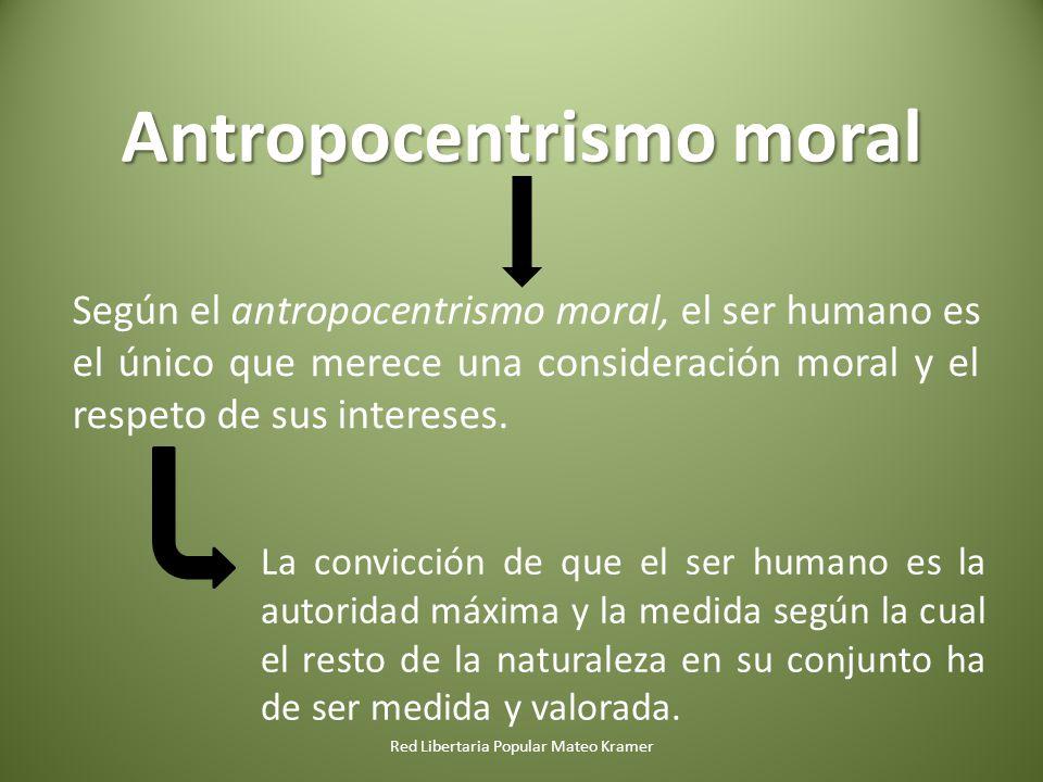 Antropocentrismo moral
