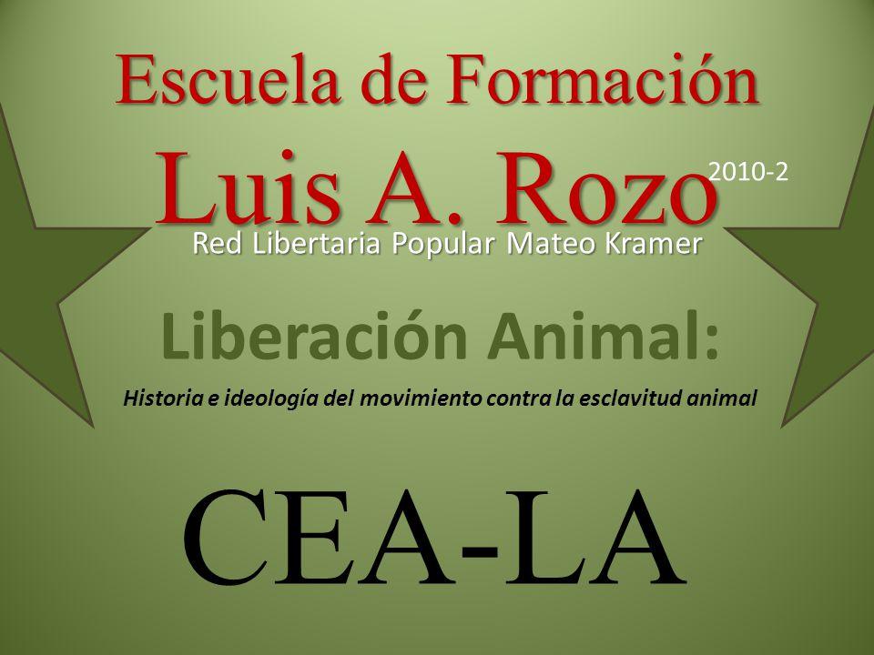 Escuela de Formación Luis A. Rozo