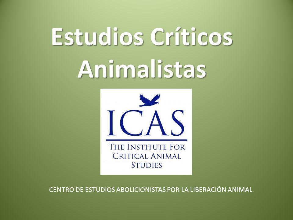 Estudios Críticos Animalistas