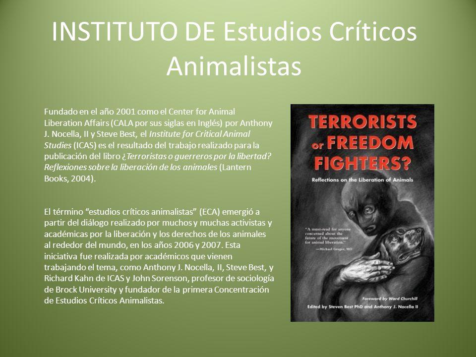 INSTITUTO DE Estudios Críticos Animalistas