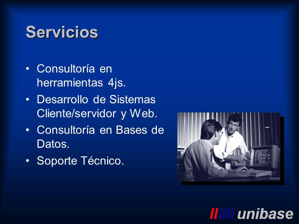 Servicios Consultoría en herramientas 4js.