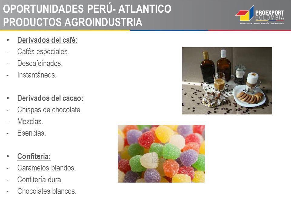 OPORTUNIDADES PERÚ- ATLANTICO PRODUCTOS AGROINDUSTRIA