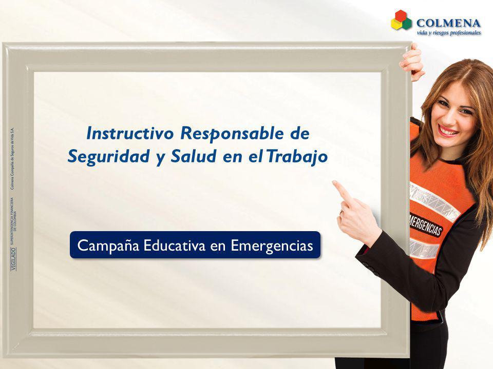 Instructivo Responsable de Seguridad y Salud en el Trabajo