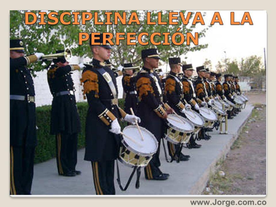 DISCIPLINA LLEVA A LA PERFECCIÓN