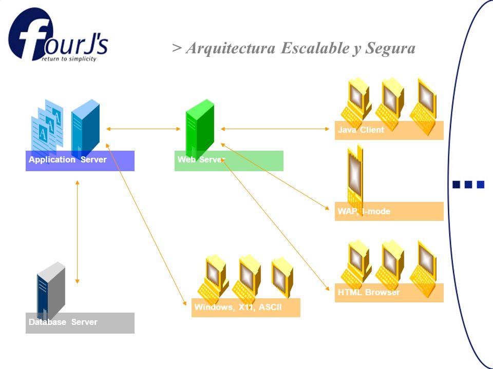 > Arquitectura Escalable y Segura