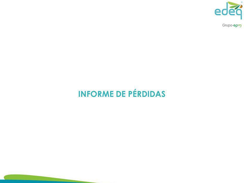 INFORME DE PÉRDIDAS