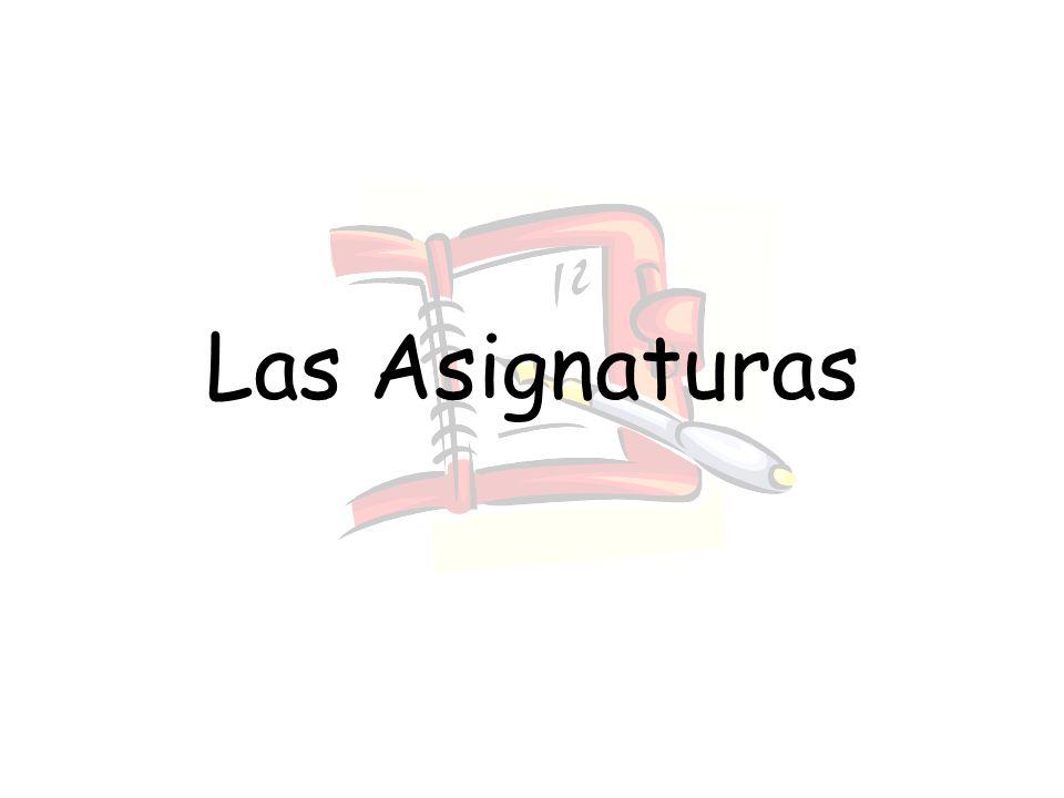 Las Asignaturas