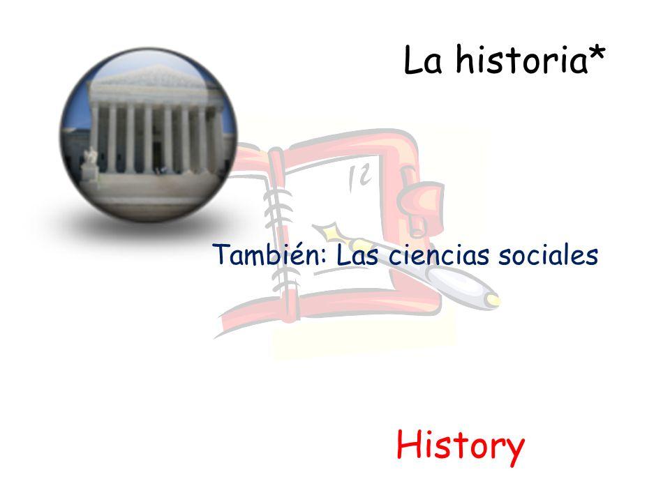 También: Las ciencias sociales