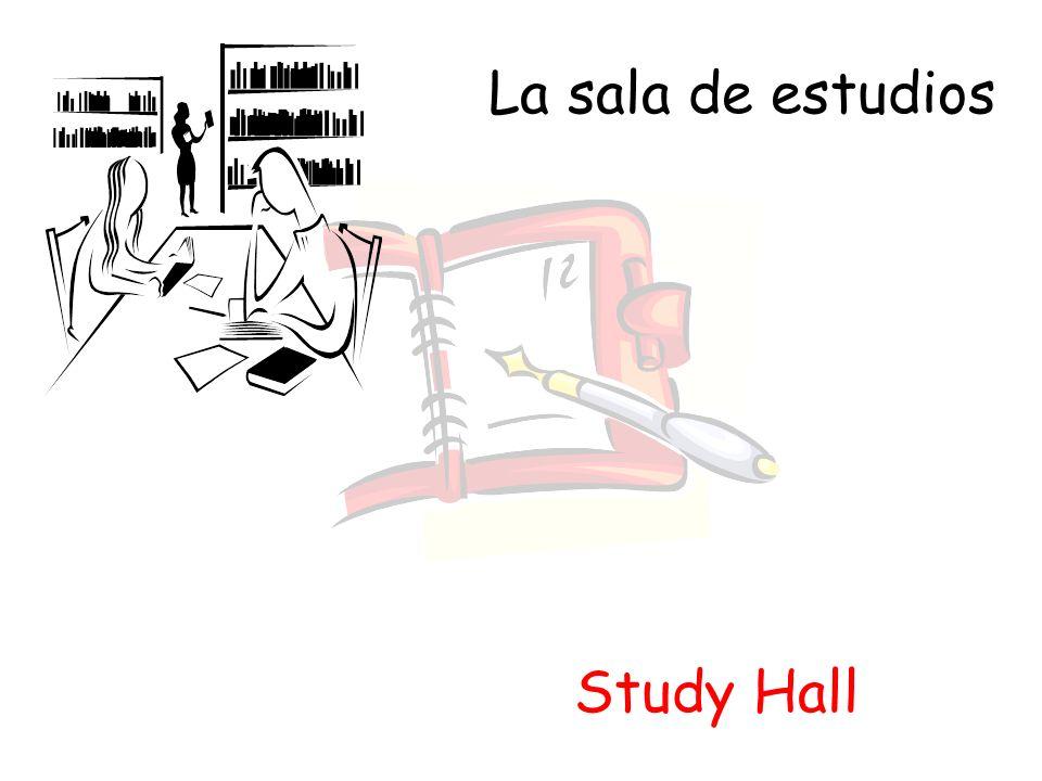 La sala de estudios Study Hall