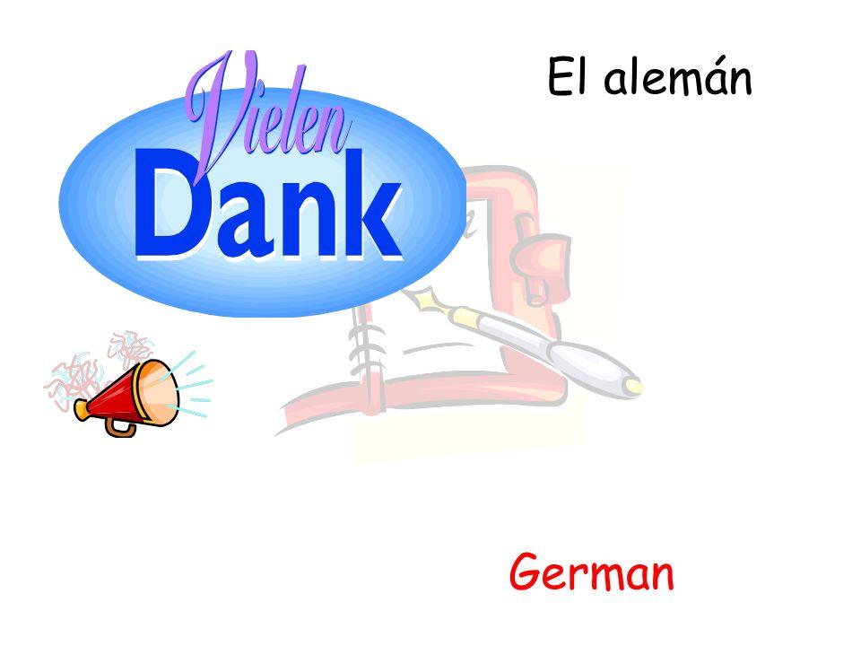 El alemán German