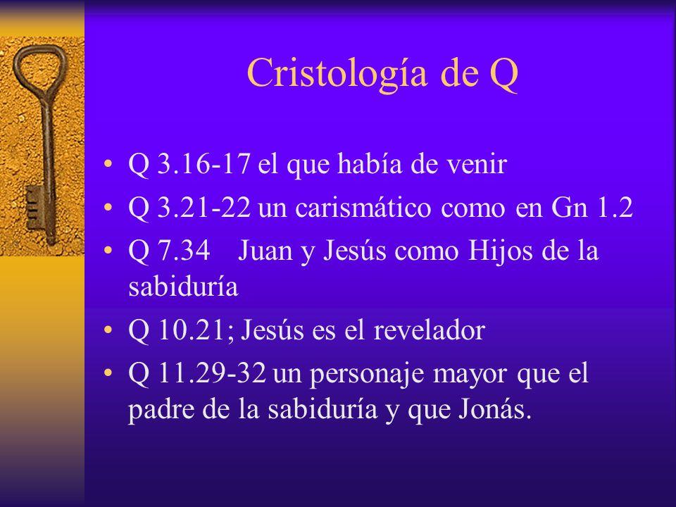 Cristología de Q Q 3.16-17 el que había de venir