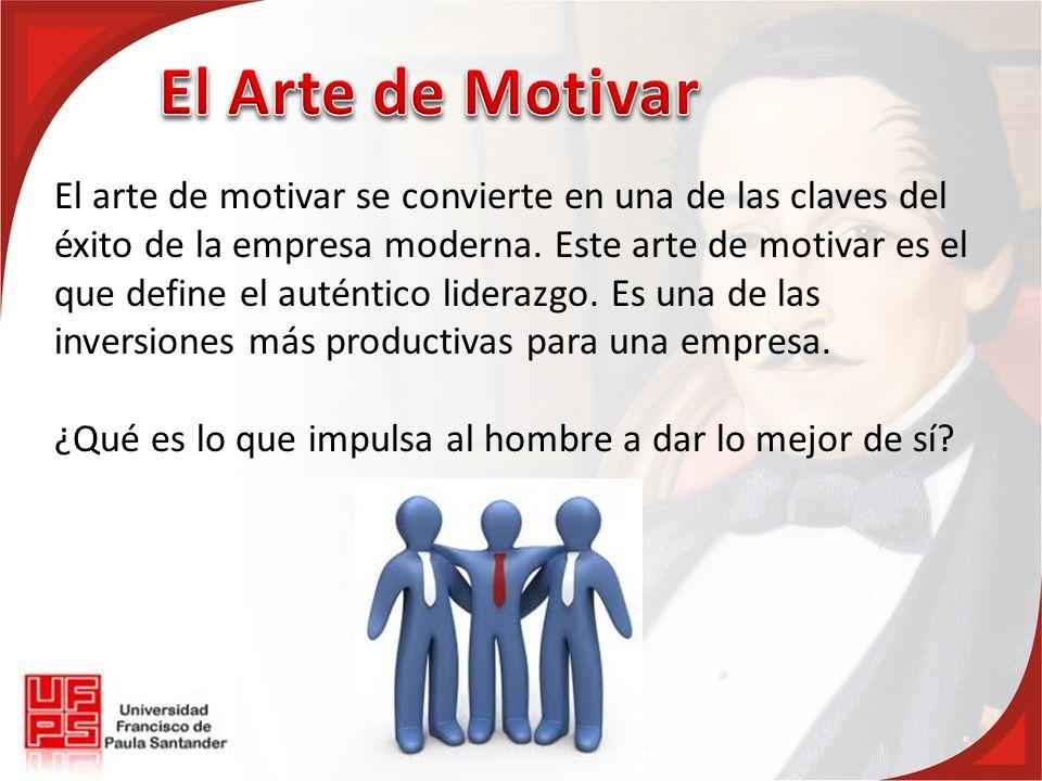 El Arte de Motivar