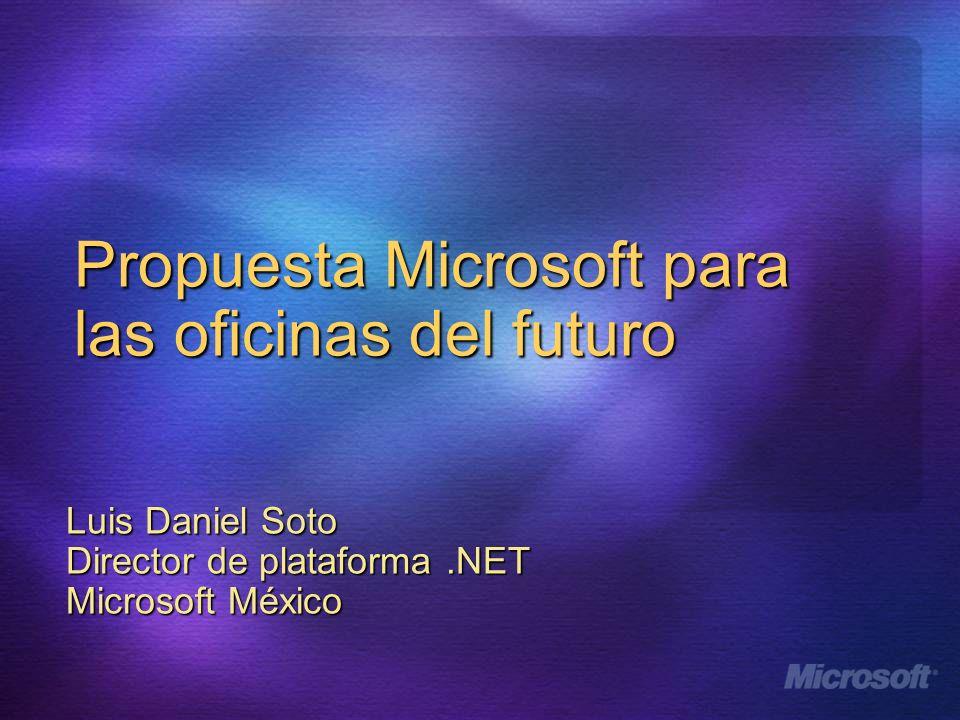 Propuesta Microsoft para las oficinas del futuro