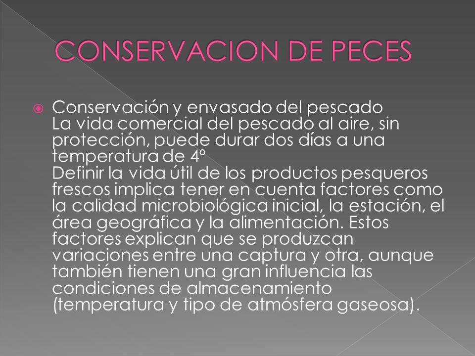CONSERVACION DE PECES