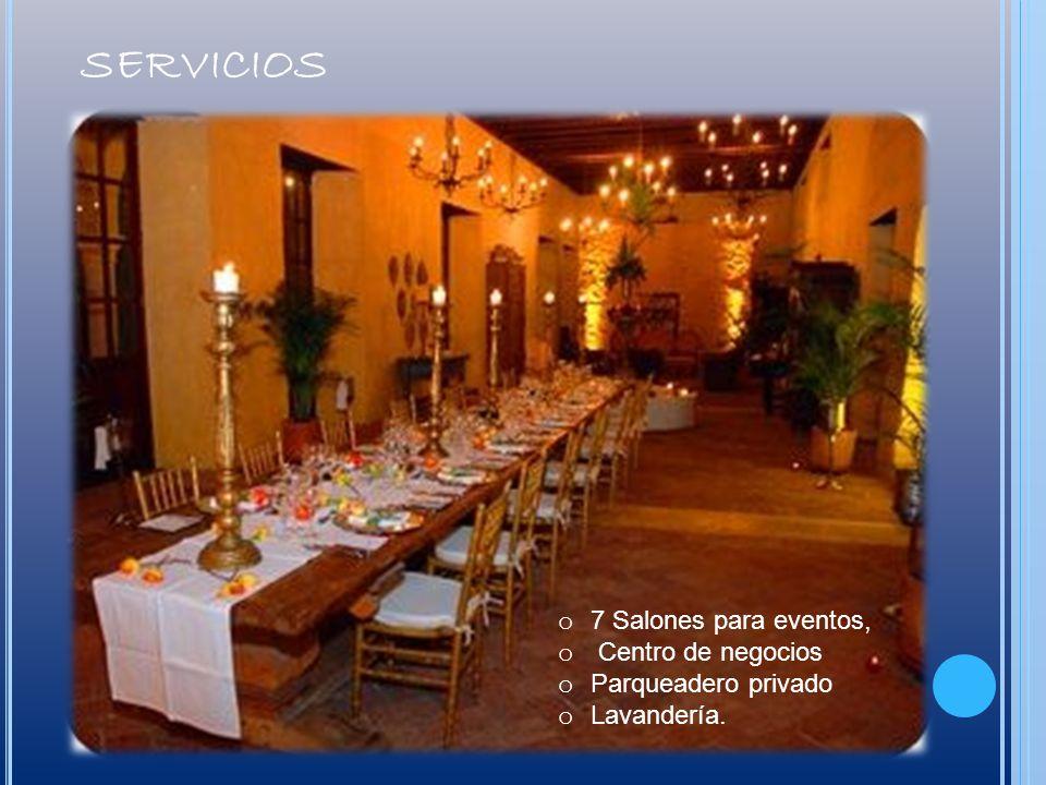 servicios 7 Salones para eventos, Centro de negocios