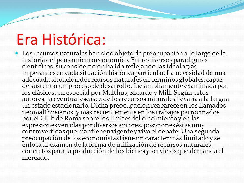 Era Histórica: