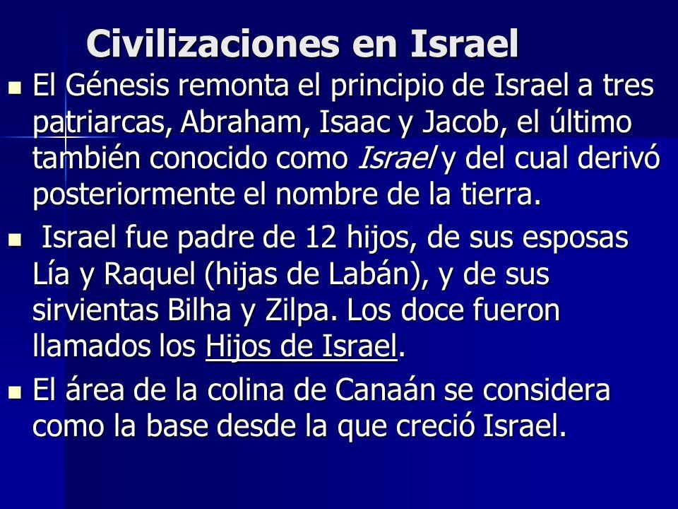 Civilizaciones en Israel