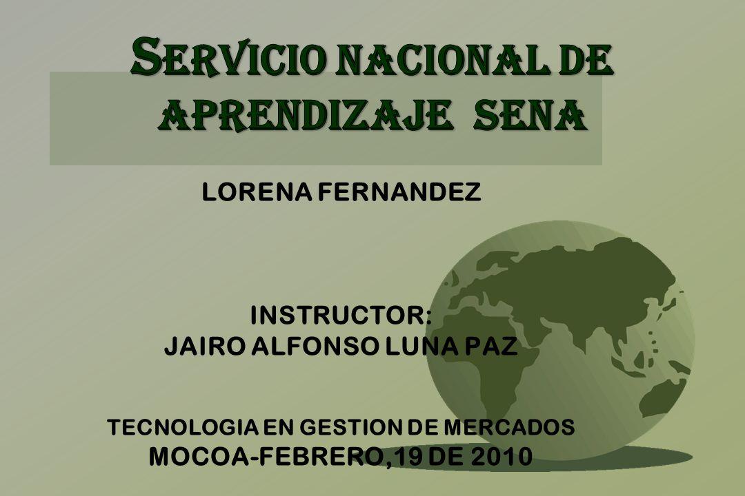 SERVICIO NACIONAL DE APRENDIZAJE SENA