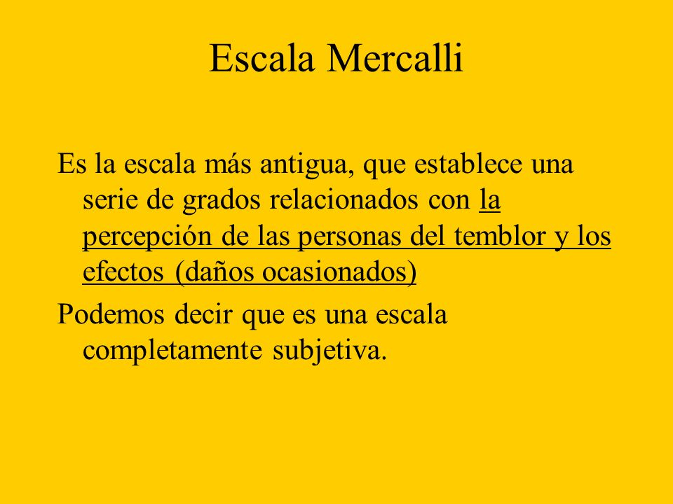 Escala Mercalli