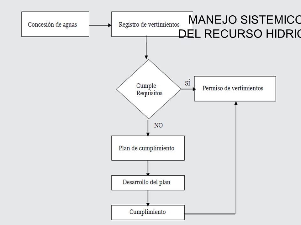 MANEJO SISTEMICO DEL RECURSO HIDRICO