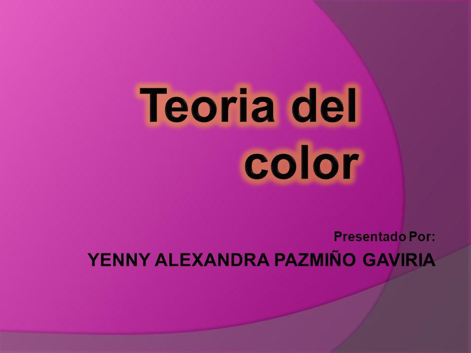 Presentado Por: YENNY ALEXANDRA PAZMIÑO GAVIRIA