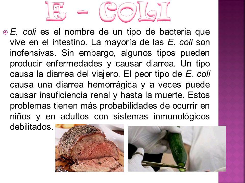 E - COLI
