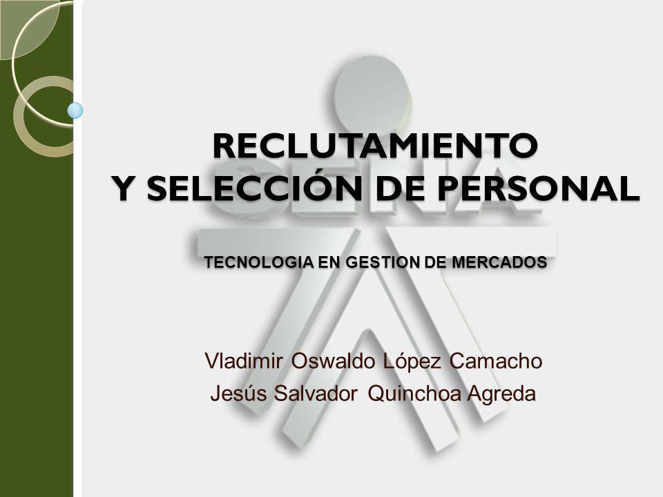 Vladimir Oswaldo López Camacho Jesús Salvador Quinchoa Agreda