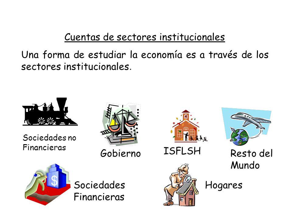 Cuentas de sectores institucionales