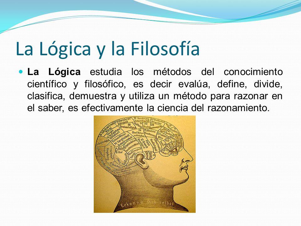 La Lógica y la Filosofía