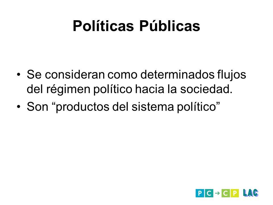 Políticas Públicas LAC
