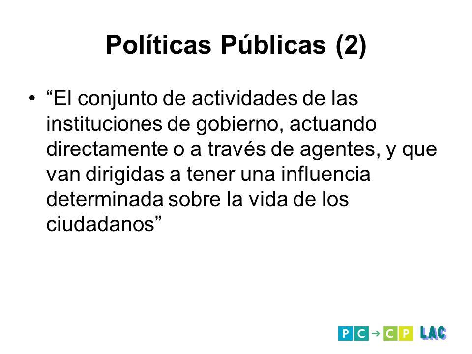 Políticas Públicas (2) LAC