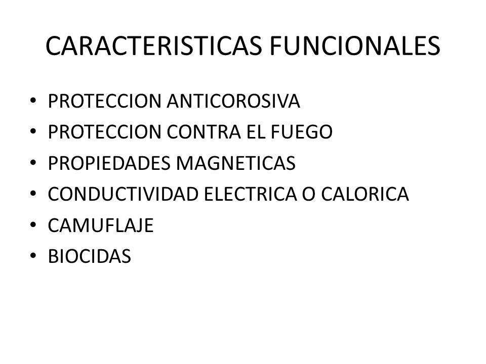 CARACTERISTICAS FUNCIONALES