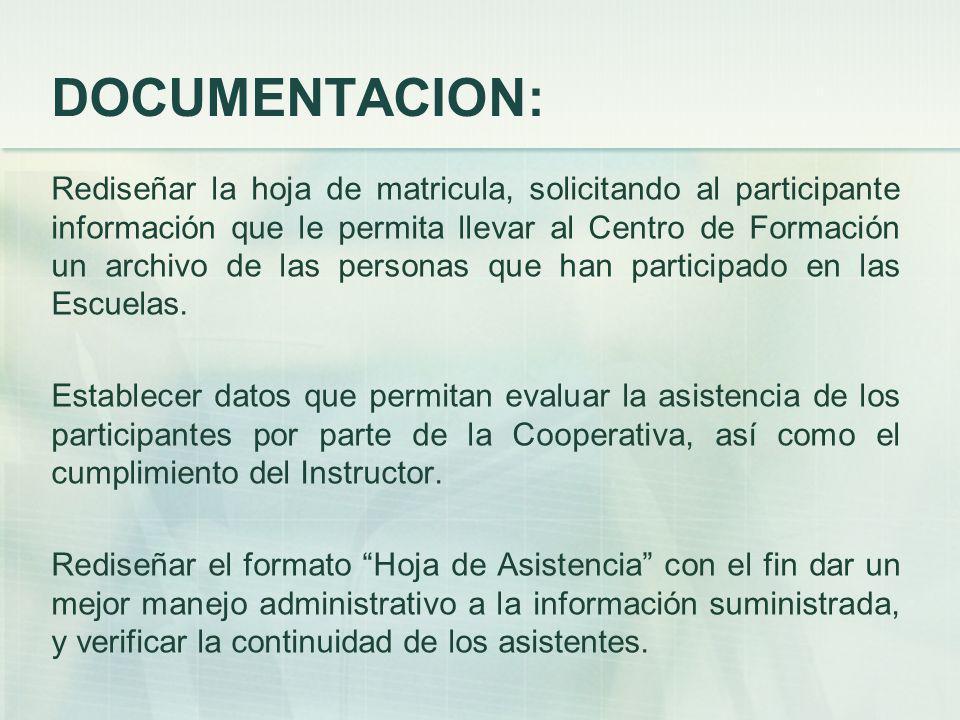 DOCUMENTACION: