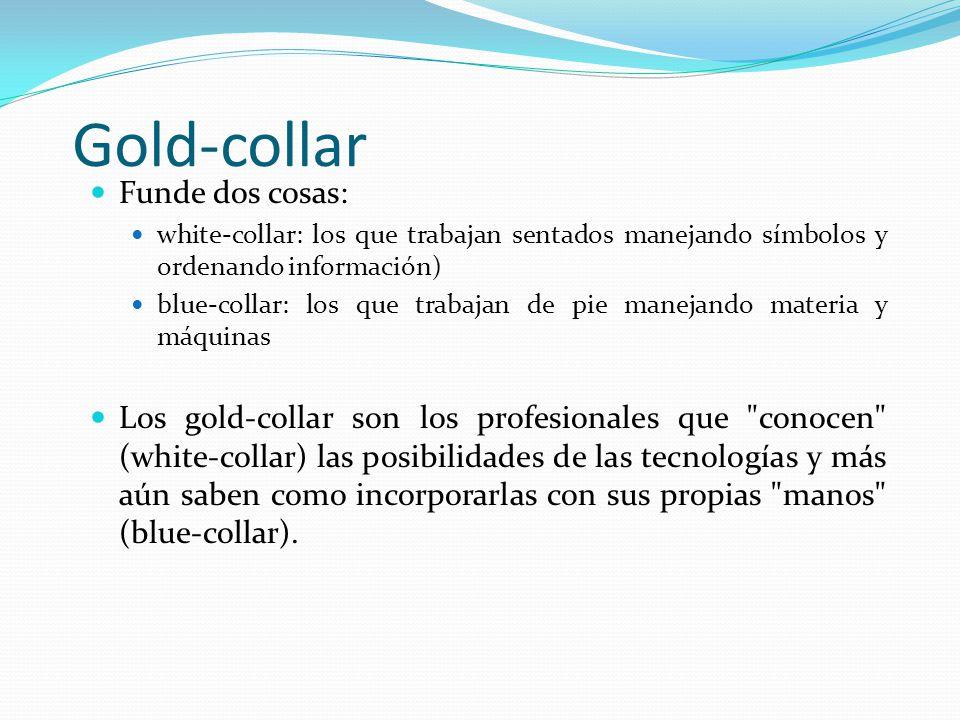 Gold-collar Funde dos cosas: