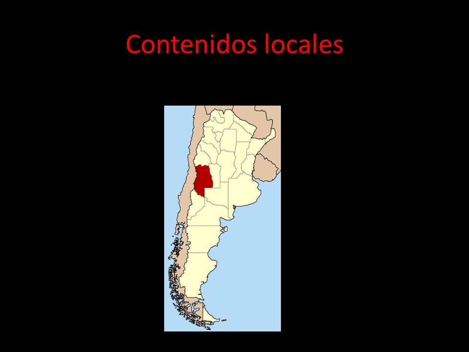Contenidos locales