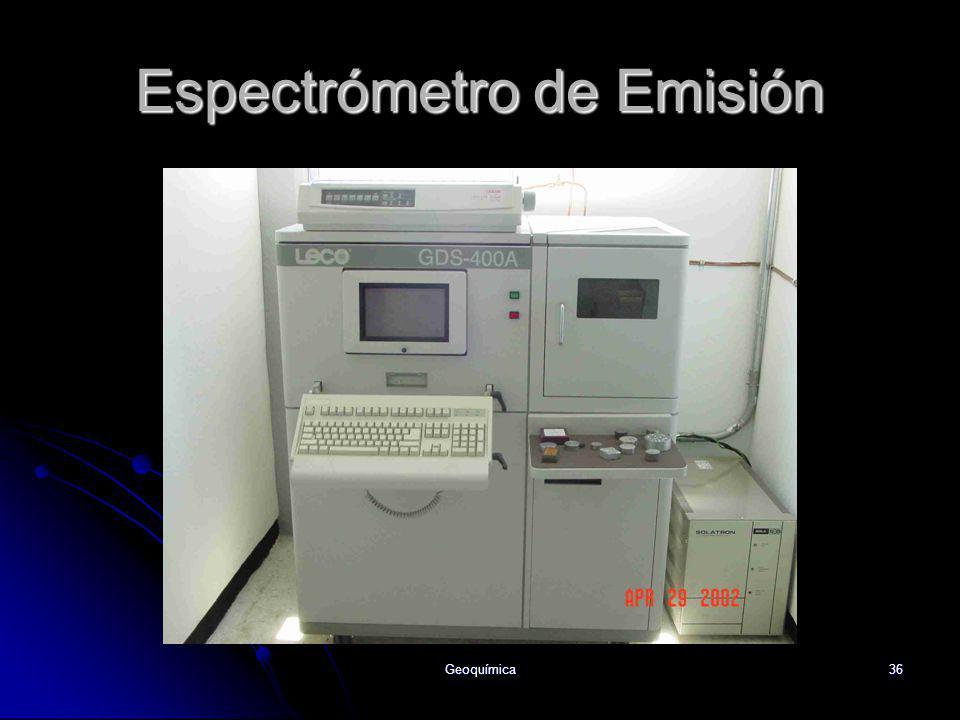 Espectrómetro de Emisión