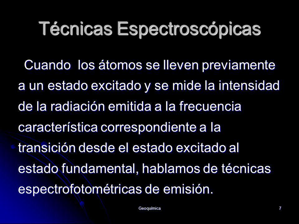 Técnicas Espectroscópicas