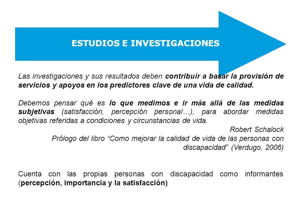 ESTUDIOS E INVESTIGACIONES