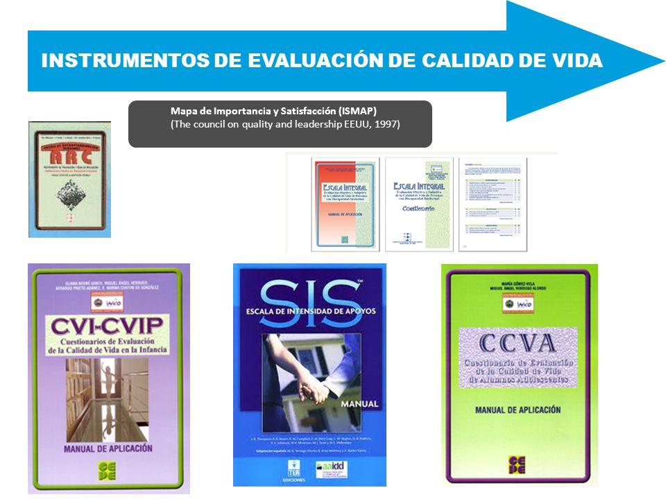INSTRUMENTOS DE EVALUACIÓN DE CALIDAD DE VIDA