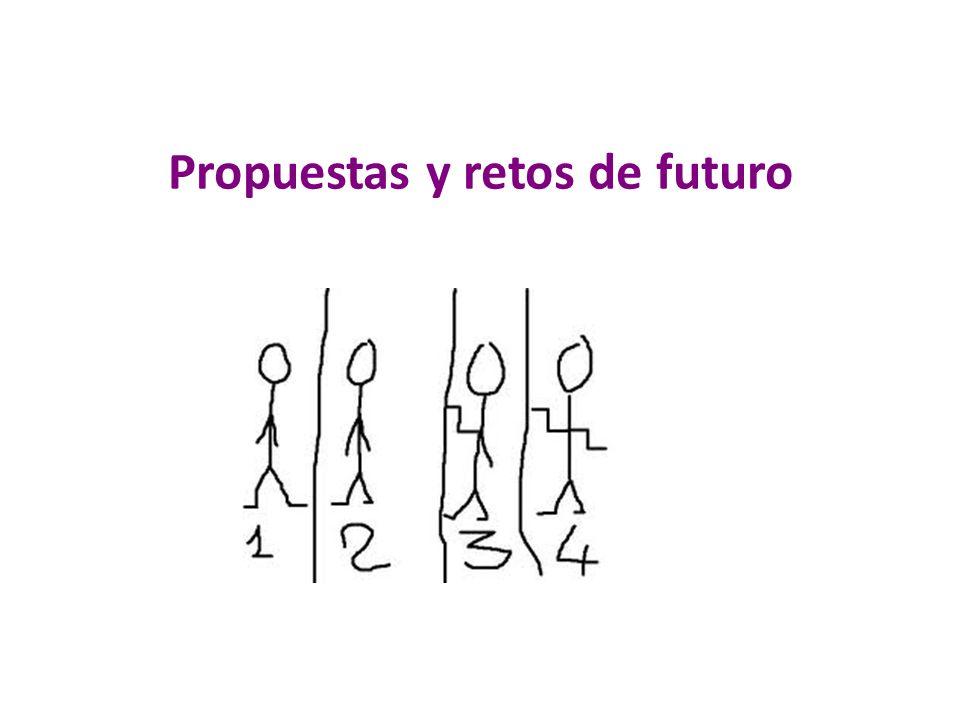 Propuestas y retos de futuro