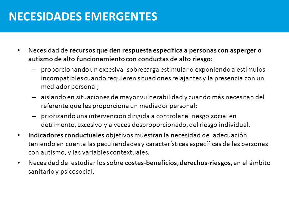 NECESIDADES EMERGENTES