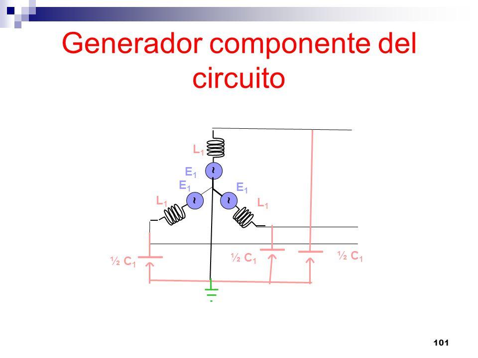 Generador componente del circuito