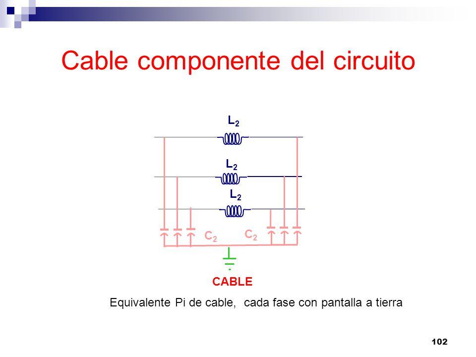 Cable componente del circuito